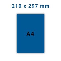 Folders A4 - 4 zijdig