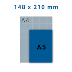 Folders A5 - 6 zijdig