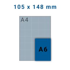 Folders A6 - 4 zijdig