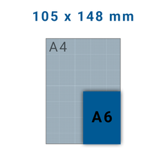 Ansichtkaart A6