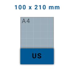 Folders US - 4 zijdig