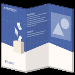 Folders - 6 zijdig