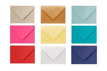 Luxe (onbedrukte) puntklep envelop