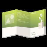 Folder A4 - 250 grams - 6 zijdig_