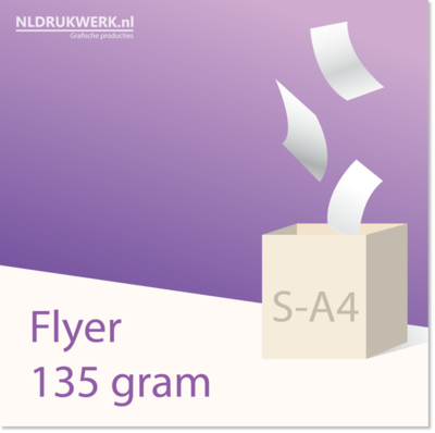 Flyer S-A4 - 135 grams
