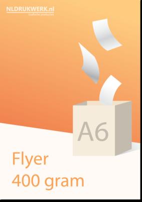 Flyer A6 - 400 grams
