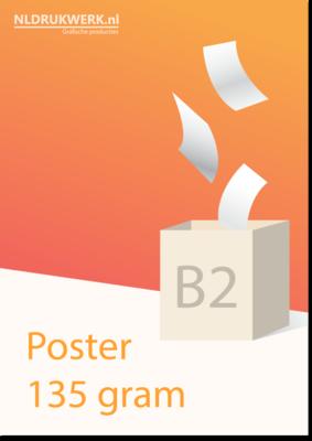 Poster B2 135 grams