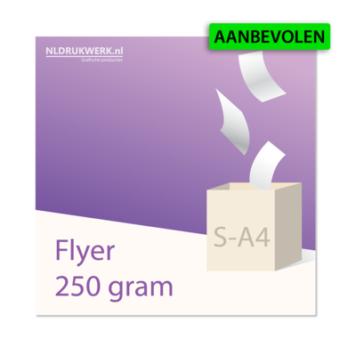 Flyer S-A4 - 250 grams