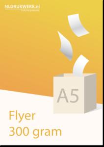 Flyer A5 - 300 grams