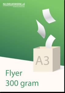 Flyer A3 - 300 grams