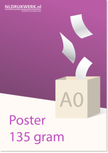 Poster A0 135 grams