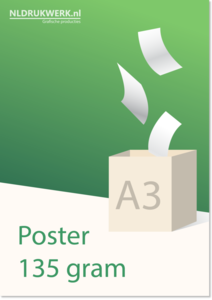 Poster A3 135 grams