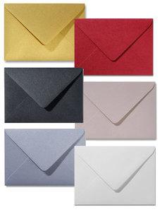 Metallic enveloppen A6 - 120 grams - onbedrukt